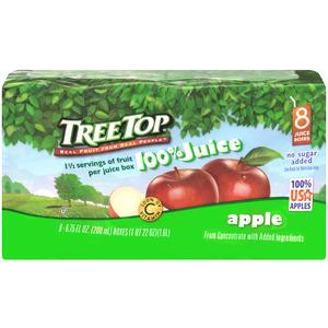 Tree Top Apple Juice Boxes
