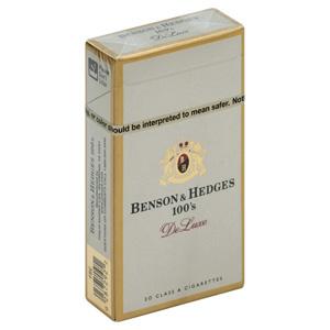 Benson & Hedges Deluxe 100