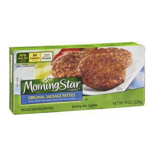 Morningstar Sausage Patties