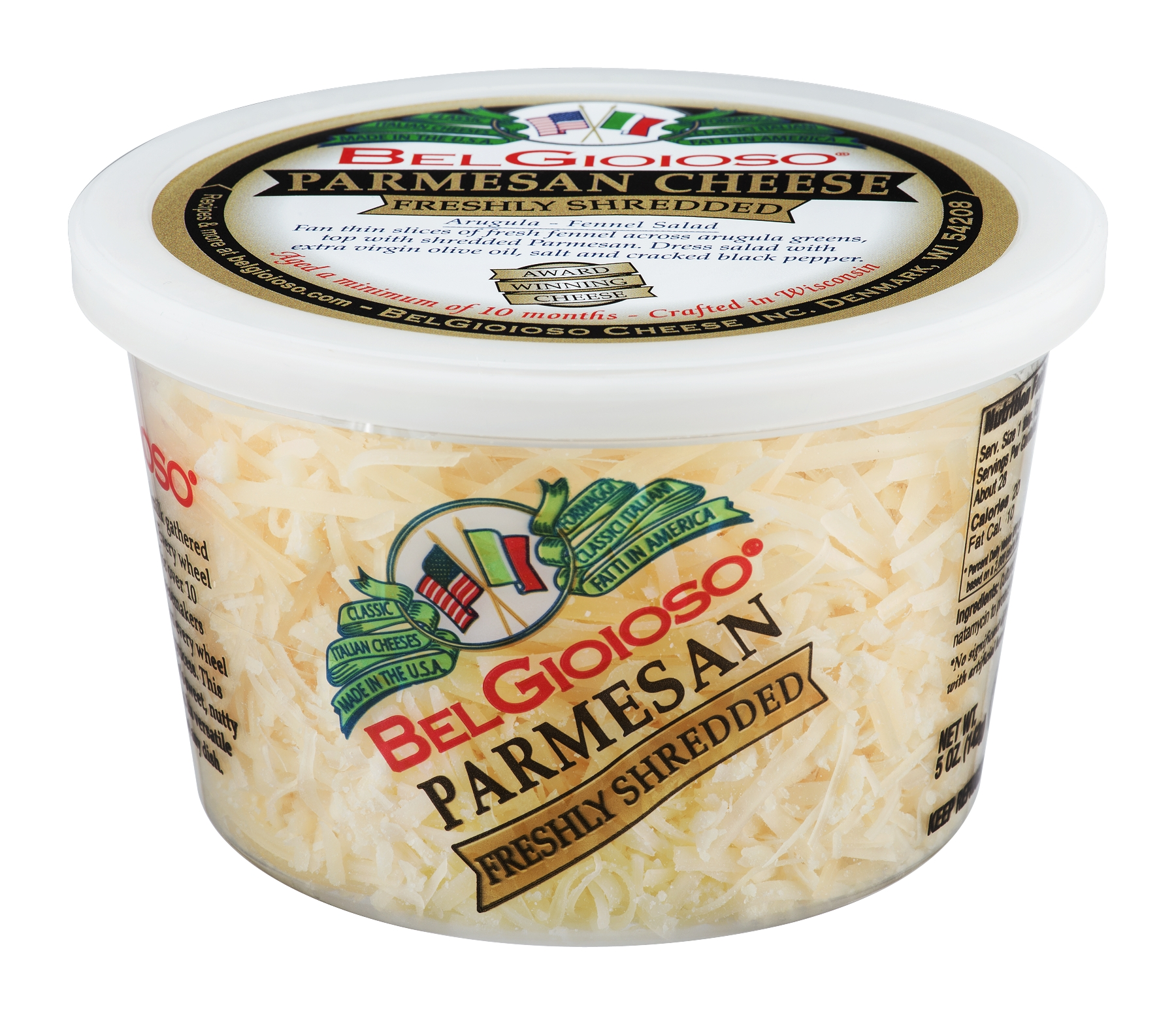 Belgioioso Parmesan - Shredded Cup