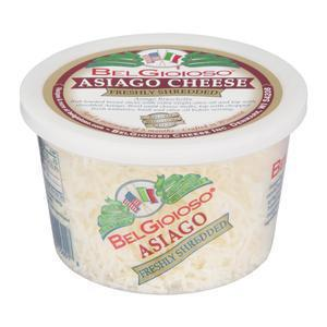 Belgioioso Asiago Cheese - Shredded