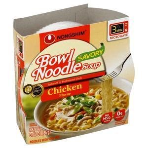 Nongshim Ramen - Savory Chicken Bowl