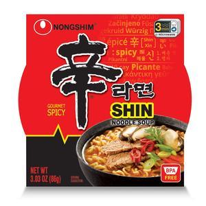 Nongshim Ramen - Gourmet Spicy Shin Bowl