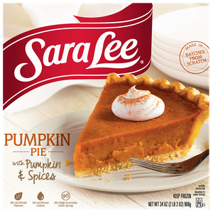 Sara Lee Pumpkin Pie
