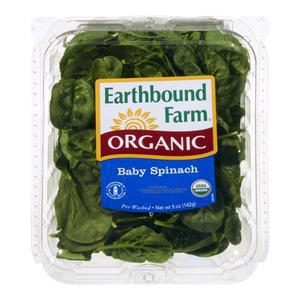 Earthbound Organic Baby Spinach