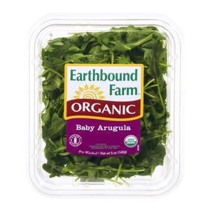 Earthbound Organic Baby Arugula