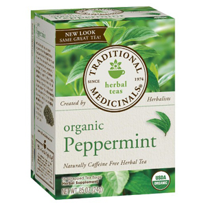 Traditional Medicinals Tea - Organic Peppermint
