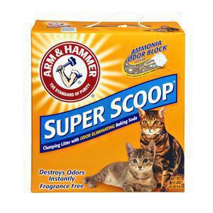 Arm & Hammer Super Scoop Cat Litter