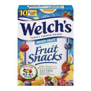 Welchs Fruit Snacks - Mixed Berry