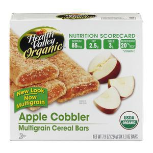 Health Valley Organic Cereal Bar - Apple
