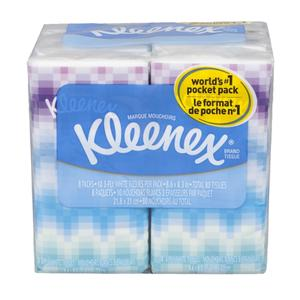 Kleenex Tissues - Pocket Packs