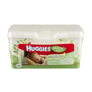 Huggies Baby Wipes Natural Care Unscented