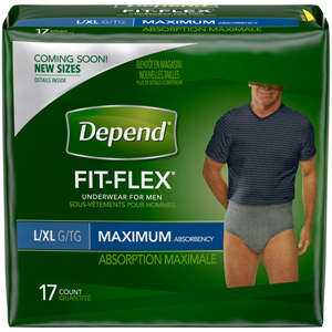Depend Underwear For Men - L/XL