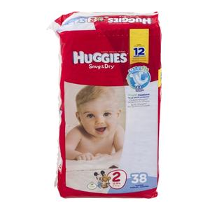 Huggies Diapers #2 12-18lbs