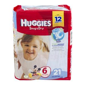 Huggies Diapers #6 Over 35 lbs