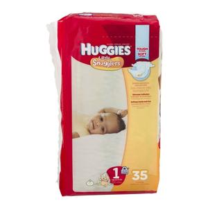 Huggies Diapers #1 8-14  lbs