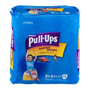 Huggies Pullups for Boys 3T/4T 32-40 lbs