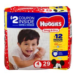 Huggies Diapers #4 22-37 lbs