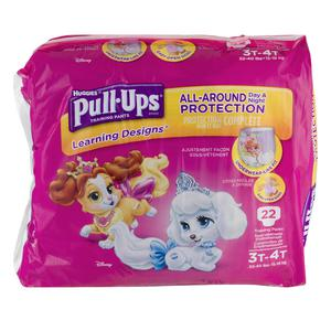 Huggies Pullups for Girls 3T/4T 32-40lbs