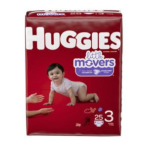 Huggies Diapers #3 16-28 lbs - Little Movers