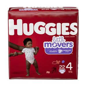Huggies Diapers #4 22-37 lbs - Little Movers
