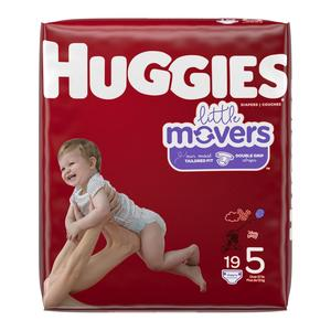 Huggies Diapers #5 Over 27 lbs - Little Movers