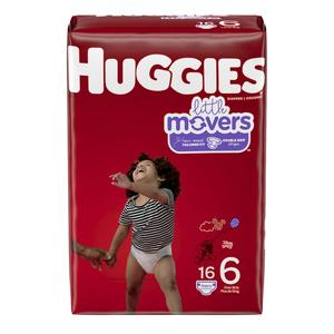 Huggies Diapers #6 Over 35 Lbs - Little Movers