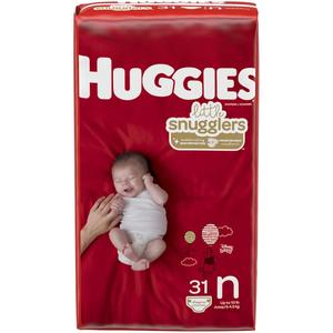 Huggies Newborn Diapers up to 10 lbs Snugglers