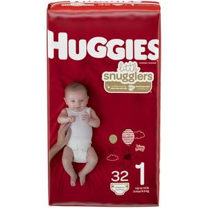 Huggies Diapers #1 8-14 lbs - Snugglers