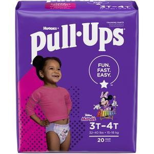 Huggies Pullups for Girls 3T/4T