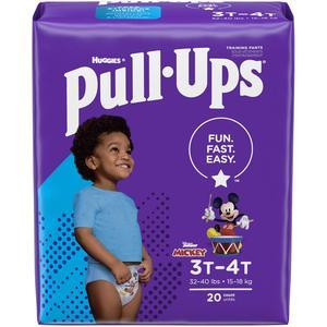 Huggies Pullups for Boys 3T/4T 32-40 lbs
