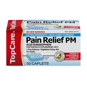 Top Care Extra Strength Pain Relief PM