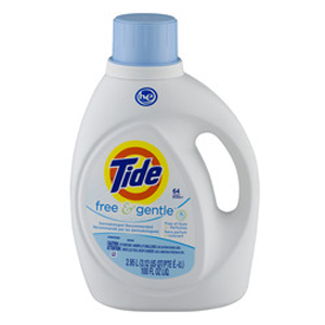 Tide Liquid Free & Gentle - 64 Loads