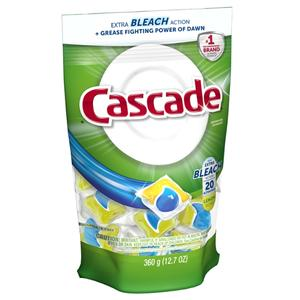Cascade Platinum w/Bleach ActionPacs