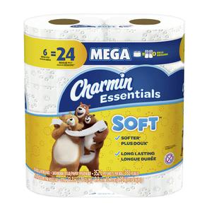 Charmin Essentials Soft Mega Roll