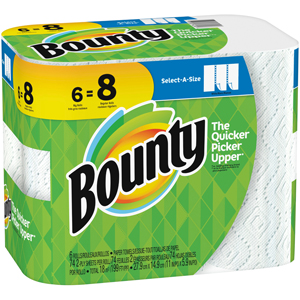 Bounty White Paper Towel - Select a Size