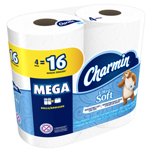Charmin Essentials Soft Mega Roll