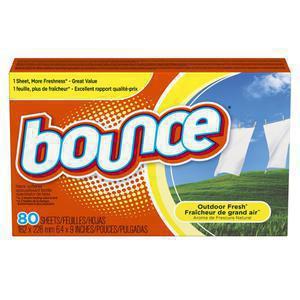 Bounce Scented Dryer Sheets