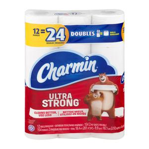 Charmin Double Roll Ultra Strong