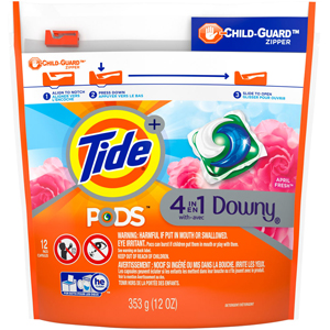 Tide Laundry Pods with Downy