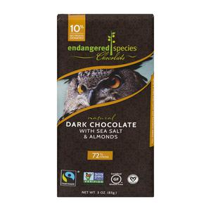 Endangered Species Dark Choc w/ Almonds