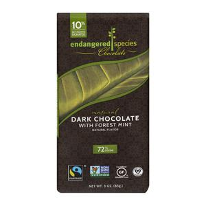 Endangered Species Dark Chocolate Mint