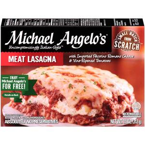 Michael Angelos Meat Lasagna
