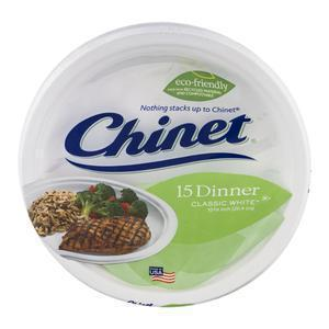 Chinet Dinner Plates