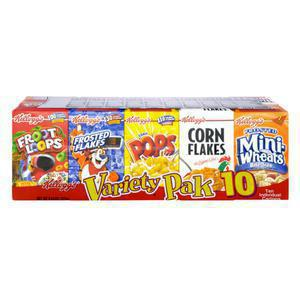 Kelloggs Variety Pack Cereal
