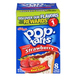 Pop Tarts Strawberry Frost