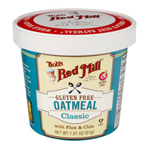 Bobs Red Mill Oatmeal Cup - Classic Flax & Chia