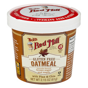 Bobs Red Mill Oatmeal Cup - Brown Sugar & Maple
