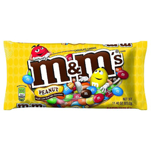 M&M Peanut Sharing Size