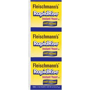 Fleischman Yeast Packets - Rapid Rise